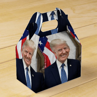 Präsident Donald Trump Geschenkschachtel