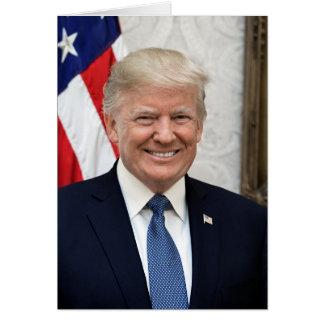 Präsident Donald Trump Karte