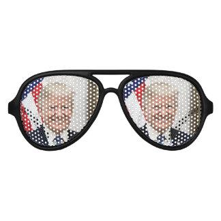 Präsident Donald Trump Piloten Sonnenbrillen
