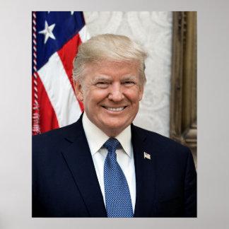 Präsident Donald Trump Poster