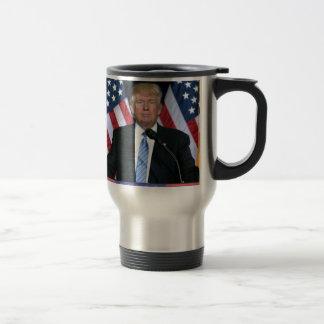 Präsident Donald Trump Reisebecher
