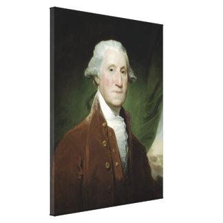 Präsident George Washington Leinwanddruck
