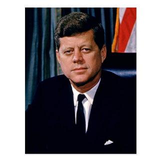 Präsident John F. Kennedy Postkarte