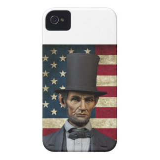 Präsident Lincoln iPhone 4 Case-Mate Hüllen
