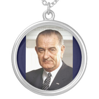 Präsident Lyndon B. Johnson-36. Versilberte Kette