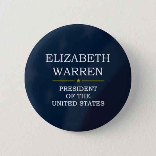 Präsident V3 Elizabeth-Waren Runder Button 5,1 Cm