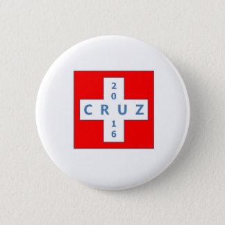 Präsidentenkampagnenknopf Teds Cruz 2016 Runder Button 5,7 Cm