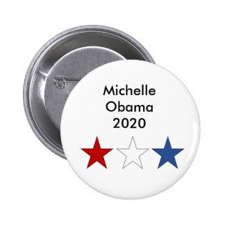 Präsidentenknopf Michelle Obama 2020 Runder Button 5,7 Cm
