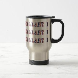 Präsidentschaftswahl Hillary 16 Edelstahl Thermotasse