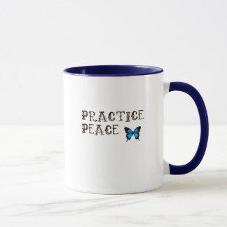 Praxis-Friedenskaffeetasse Tasse