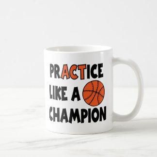 Praxis mag einen Meister, Basketball Kaffeetasse