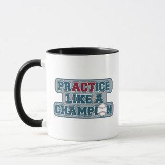 Praxis mag einen Meister Tasse