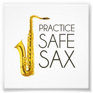Praxis-Safe-Saxophon Kunst Fotos