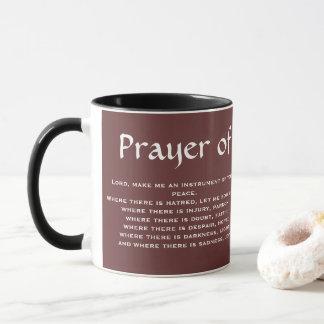 PRAYER* der HEILIGER FRANCIS-Kaffee-Tasse Tasse
