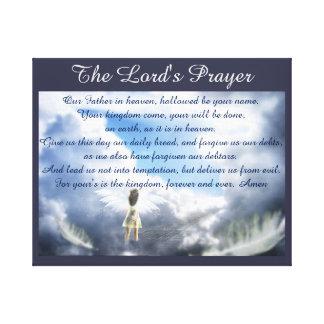 Prayer des Lords Leinwanddruck
