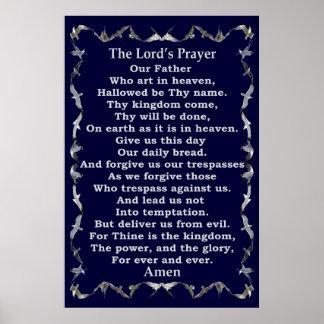Prayer Lords in der Fliegen-Seemöwe-Grenze Poster