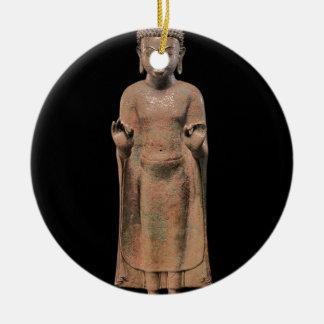 Predigender Buddha 2 Keramik Ornament