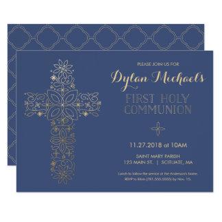 Première invitation de sainte communion,