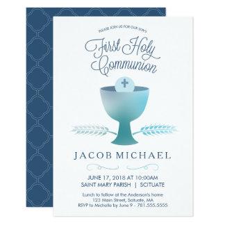 Première invitation de sainte communion -