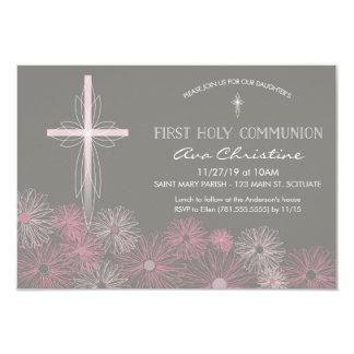 Première invitation de sainte communion avec la