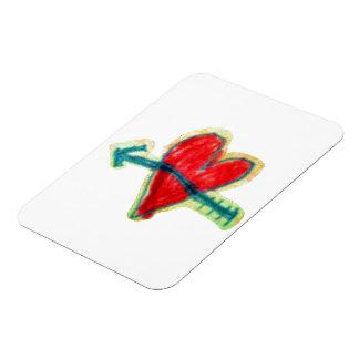 Premium Flexi Magnet Herz
