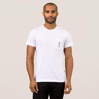 Preppy Penguin-Grün-Bogen-weißer T - Shirt mit