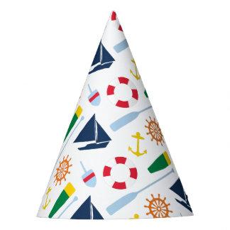 Preppy Seegeburtstags-Party Partyhütchen