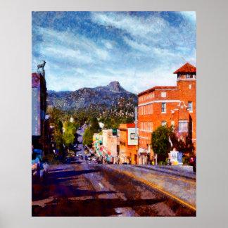 Prescott, Straße Arizonas Gurley Poster