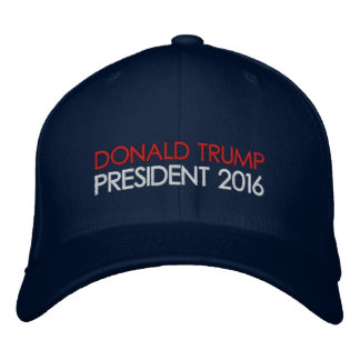 Président 2016 de Donald Trump Casquettes Brodées