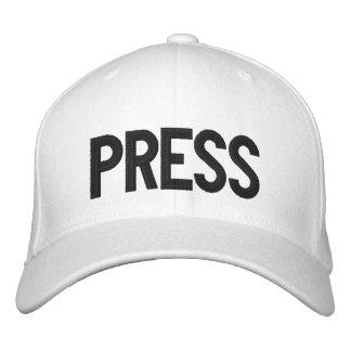 PRESSE PJS - gestickter Hut Besticktes Baseballcap