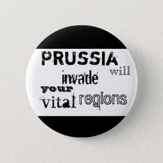 Preußen dringt Ihre wesentlichen Regionen ein Runder Button 5,7 Cm