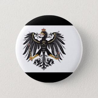Preussischer Flaggenknopf Runder Button 5,7 Cm