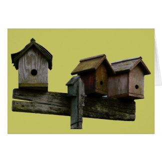 Prim Birdhouses in Folge Karte