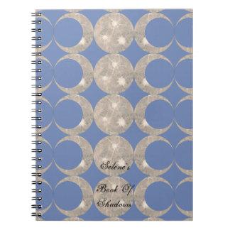 Prim Mond-Entwurfs-Buch von Schatten BOS Grimoire Notizblock