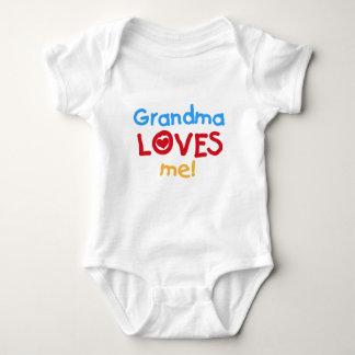 Primärfarbgroßmutter-Lieben ich T - Shirts