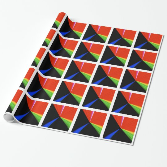 PrimärPackpapier des punkt-3D durch Janz Geschenkpapierrolle