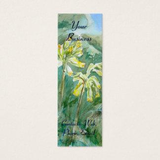 Primula-Herz Mini Visitenkarte