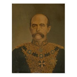 Prince Otto Von Bismarck in der Uniform des Postkarte