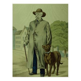 Prince Otto Von Bismarck in Friedrichsruh Postkarte