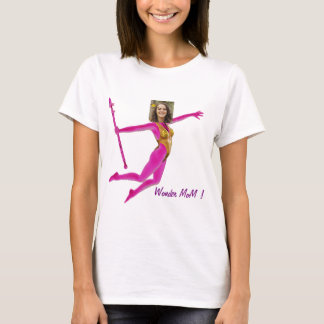 Princess Fairy Wand, Pink Fushia - with YOUR Pho T-Shirt