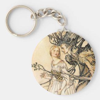 Princesse de conte de fées et porte - clé d'Elf d' Porte-clefs