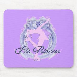 Princesse de glace Pink/pourpre Tapis De Souris