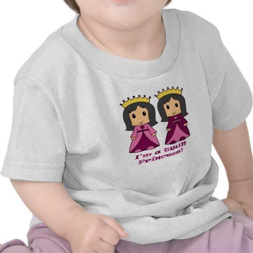 Princesses jumelles t-shirts