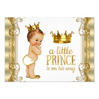 Prinz Babyparty 11,4 X 15,9 Cm Einladungskarte