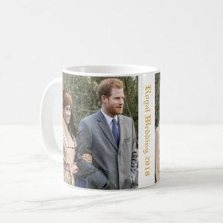 Prinz Harry und Meghan Markle königliche Hochzeit Kaffeetasse