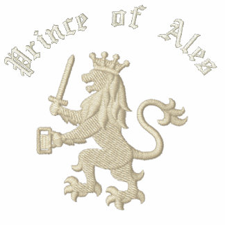 Prinz lustigen trinkenden Wortspiels Ales Besticktes Polo Hemd