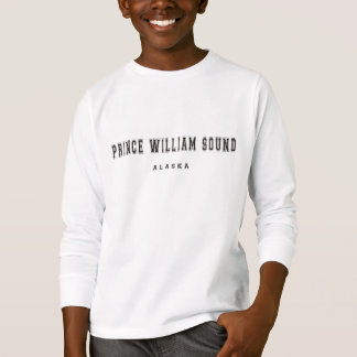 """Prinz William Sound"" Alaska T-Shirt"