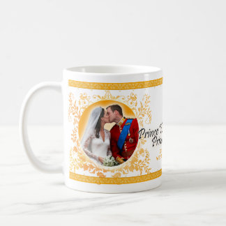 Prinz William u. Catherine-Hochzeits-Kuss-Tasse Tasse