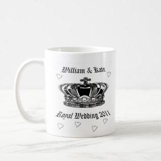 Prinz William u. Kate. Königliche Hochzeit 2011 Kaffeetasse