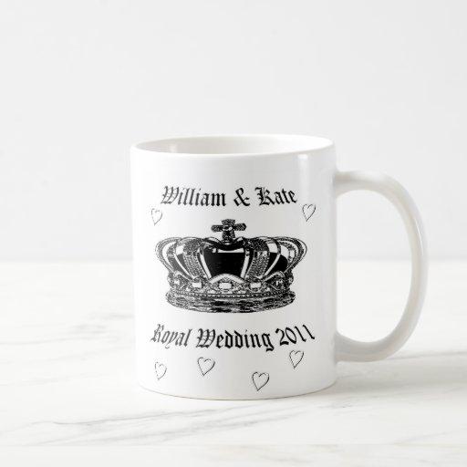 Prinz William u. Kate. Königliche Hochzeit 2011 Kaffeehaferl